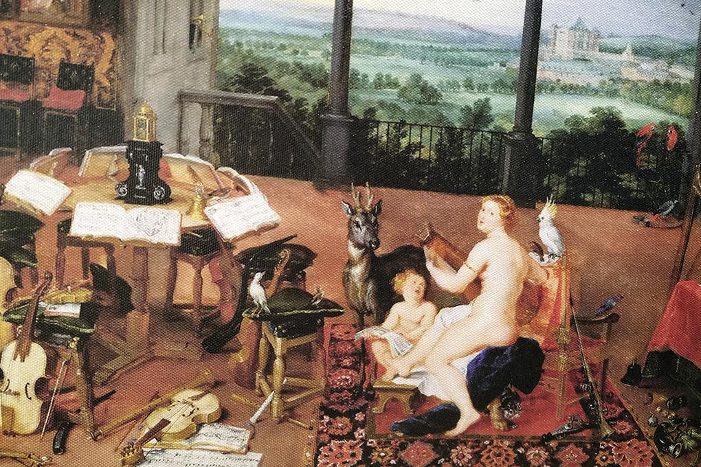 Я.Брейгель «Слух», 1617 г.