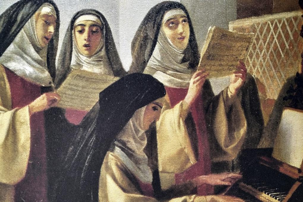 К.Брюллов «Монахини», 1849 г.