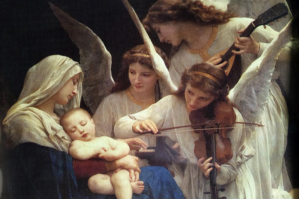 В.Бугро «Песнь ангелов», 1881 г.
