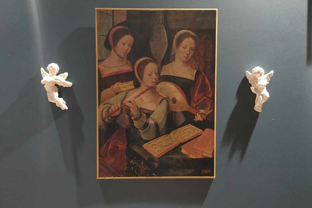 Картина «Музыкантши» написана нидерландским художником XVI века