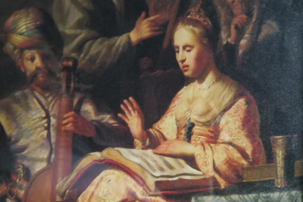 Рембрандт Харменс ван Рейн «Аллегория музыки», 1626 г.