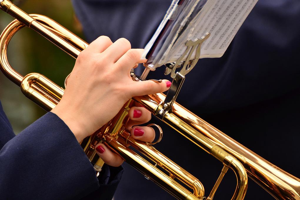 Пюпитр к музыкальному инструменту